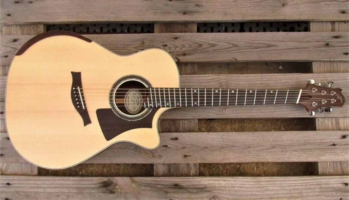 JP Fanned Frets Acoustic Guitar